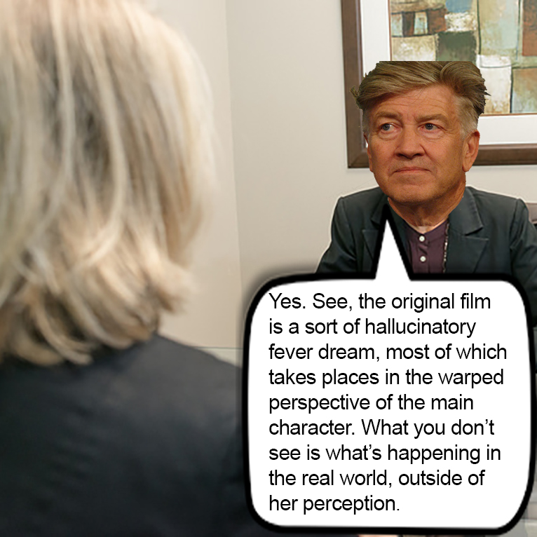 David Lynch explains his film.